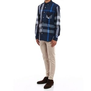 Burberry Thornaby chequered dress shirt